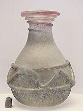 Molto RARA FIRMATO ORIGINALE RENATO Anatra VENEZIANA ROMANICHE scavo vaso di cristallo (No.2)