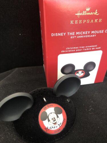DISNEY THE MICKEY MOUSE CLUB 2020 Hallmark Ornament Disney 60th ann FreeShipMIB