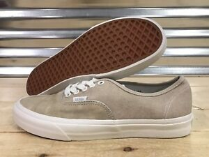0c1d3aee6e Image is loading Vans-Authentic-Skateboard-Shoes-Washed-Nubuck-Canvas-Humus-