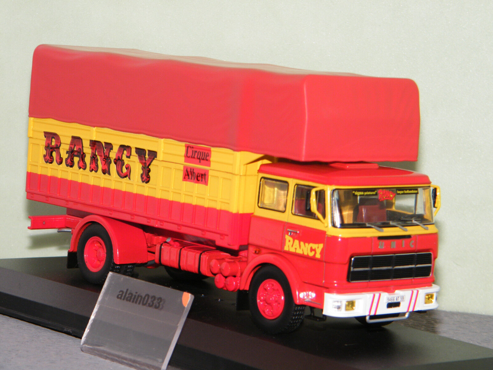 UNIC FIAT 619 CIRQUE RANCY 1979 IXO 1 43 Ref TRU023