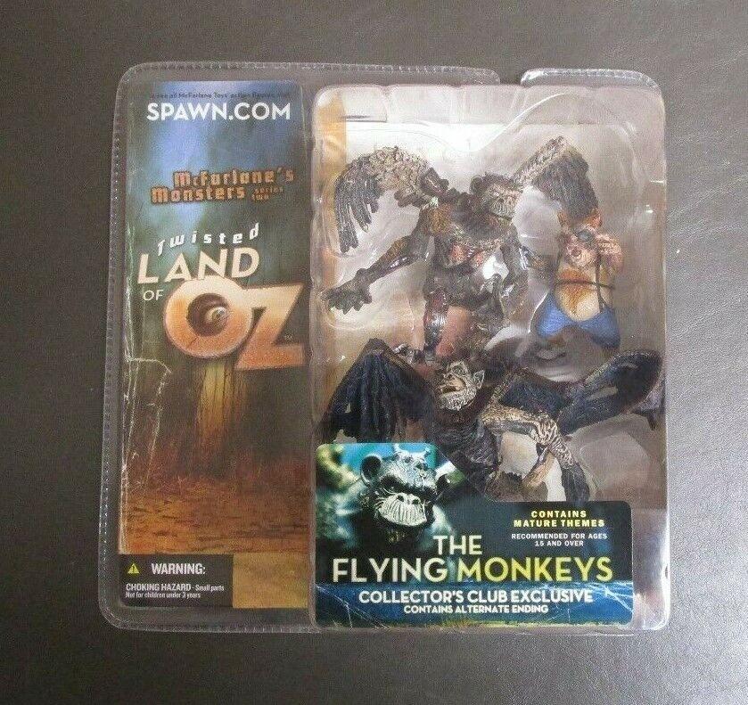 The Flying Monkeys 2003 Series 2 MCFARLANE TOYS Twisted Land of Oz MIB GV