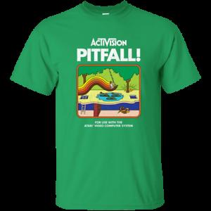 Activision-Pitfall-Atari-2600-G200-Gildan-Ultra-Cotton-T-Shirt
