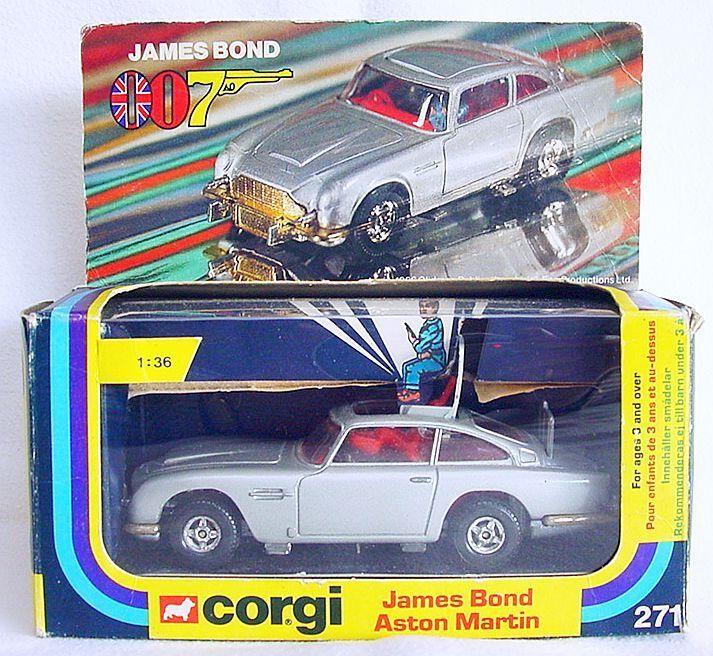Mercancía de alta calidad y servicio conveniente y honesto. Corgi Juguetes 1 36 James Bond 007 007 007 Aston Martin DB.5 + 2x Villano  271 casi nuevo y sin usar en caja' 77 Rara   Ahorre hasta un 70% de descuento.