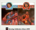 1995 Futera NBL Trading Cards SAMPLE Head To Head Diecut H2H2: Grace/McDonald