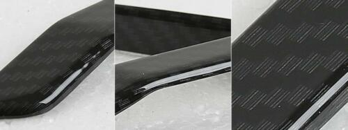 Carbon Fiber look 4 doors speaker moulding trim For 2017 2018 Honda CRV CR-V