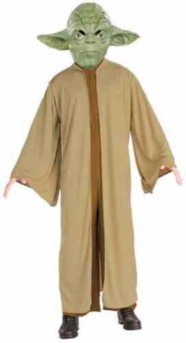 Yoda Star Wars Jedi Master Classic Robe Fancy Dress Up Halloween Child Costume