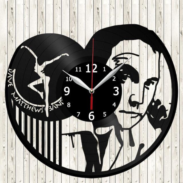 Details about  /LED Vinyl Clock Dave Matthews Band LED Wall Art Decor Clock Original Gift 4364