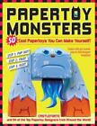Papertoy Monsters : 50 Cool Papertoys You Can Make Yourself! by Brian Castleforte (2010, Paperback)