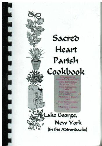 *LAKE GEORGE NY *SACRED HEART CATHOLIC CHURCH *PARISH COOK BOOK *ADIRONDACKS