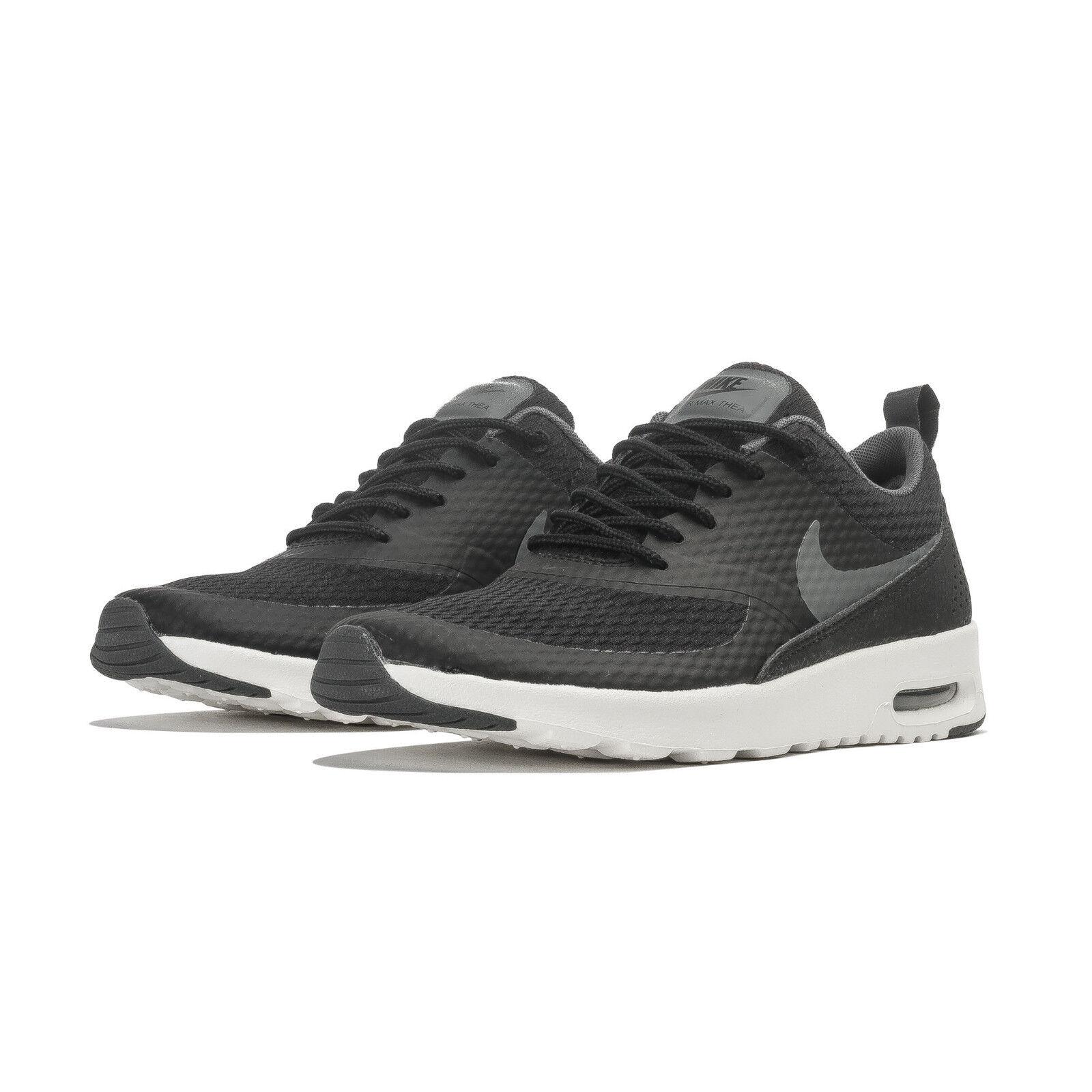 Nike Max Mujeres Air Max Nike Thea Textil Zapato 819639-005 Negro bc4c57