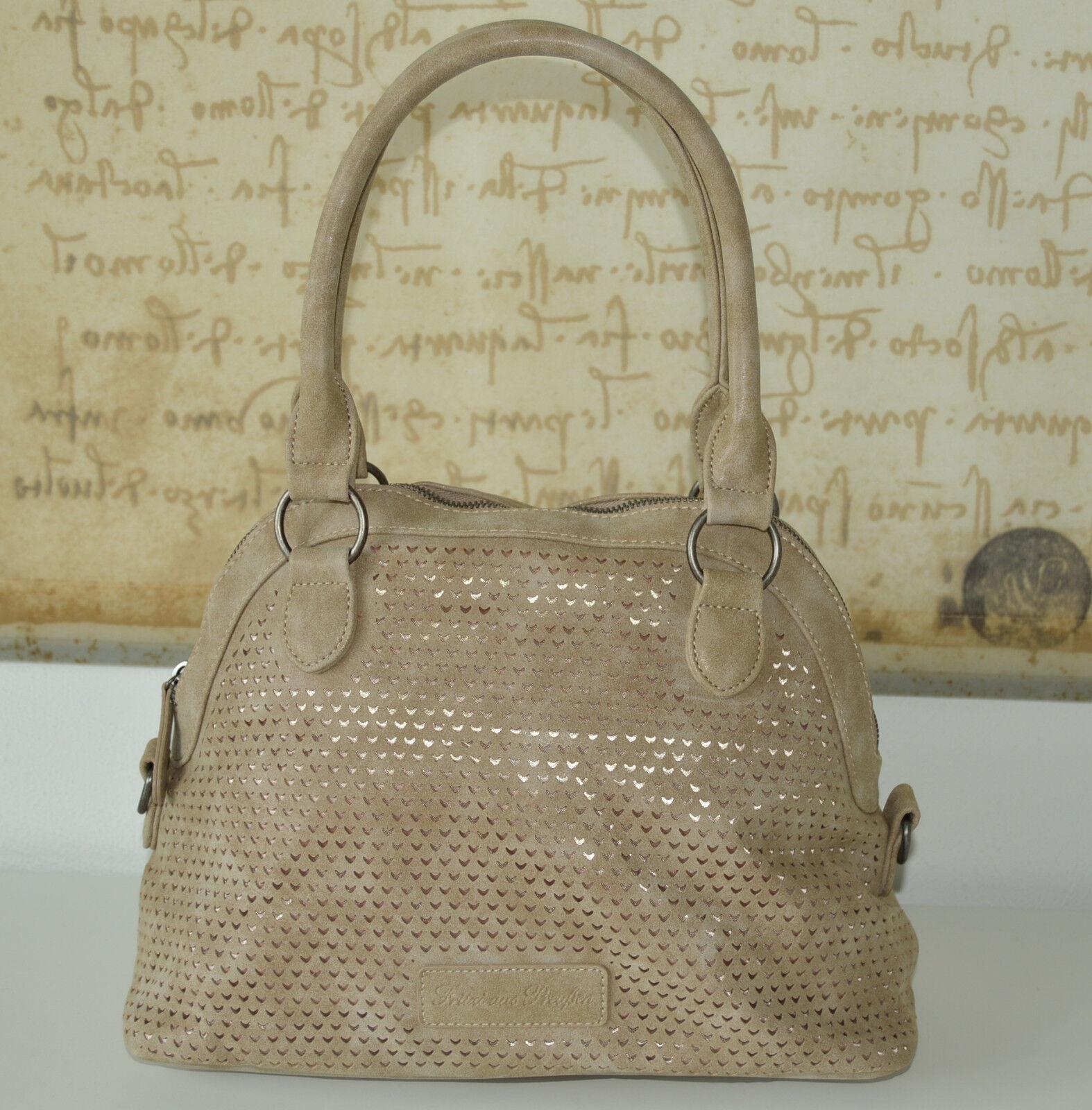 FRITZI AUS PREUßEN   ️  SALE Handtasche Schultertasche FLORINIA Vintage Alpacca | Elegante Form