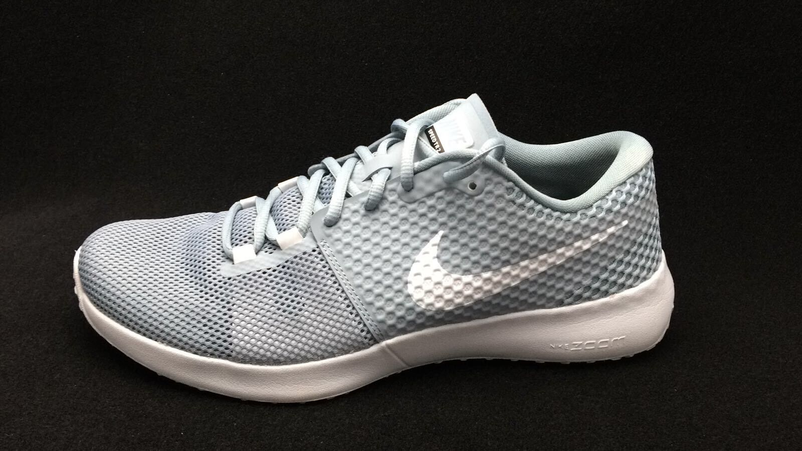 Nike Men's Zoom Speed TR2 Dove 684621 010 Grey/Pure Platinum Running Shoe 8