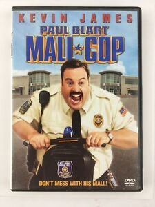 Paul-Blart-Mall-Cop-DVD-2009-Goofy-Funny-Comedy-Kevin-James-Fast-Free-Shipping