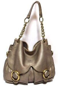 Image is loading OROTON-Handbag-Jackie-Tote-Antique-Gold-pebble-grain- b91b6fa0d100a