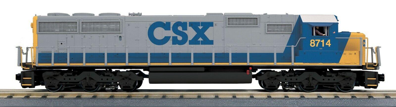 MTH  30-20619-1 CSX SD-60  PredOSOUND 3.0 RD RAILKING SCALE O GA 3 RAIL