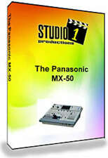 Panasonic MX-50 Video Mixer Training DVD, WJ-MX50 MX50 - USA Seller