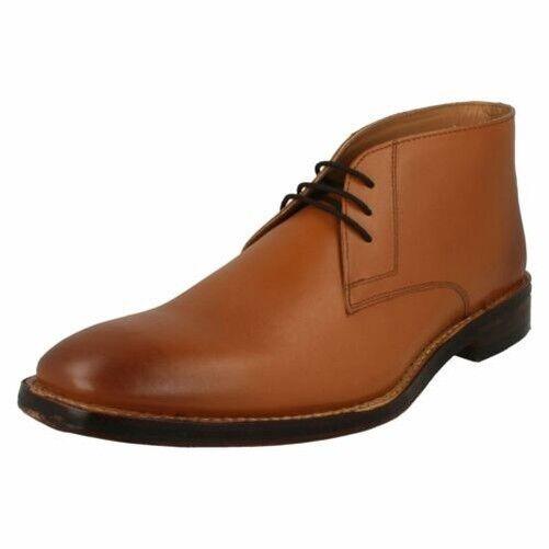 Hombre Catesby Elegante con Cordones botas Safari MCW159T