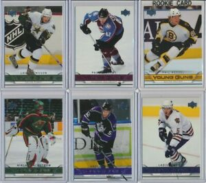 2006-07-Upper-Deck-Series-1-YOUNG-GUNS-Rookie-U-Pick-COMPLETE-YOUR-SETS