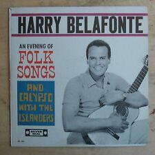 Harry Belafonte An Evening Of Folk Songs... Vinyl LP Celebrity Records UT 154