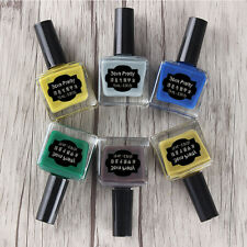 6stk/set BORN PRETTY 15ml Nagel Stamping Lack Stempellack Nail Polish Maniküre