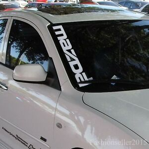 Reflective Front Windshield Side Decal Vinyl Car Stickers For - Vinyl car window decals