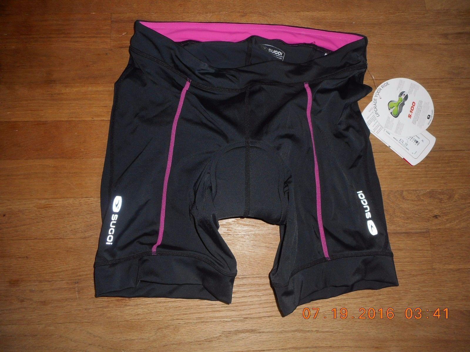 NEW Woman SUGOI RPM Cycle Shorts XSMALL