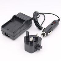 AC/CAR Battery Charger for SAMSUNG SB-LSM80 VP-DC171W VP-D361 MINI DV Camcorder