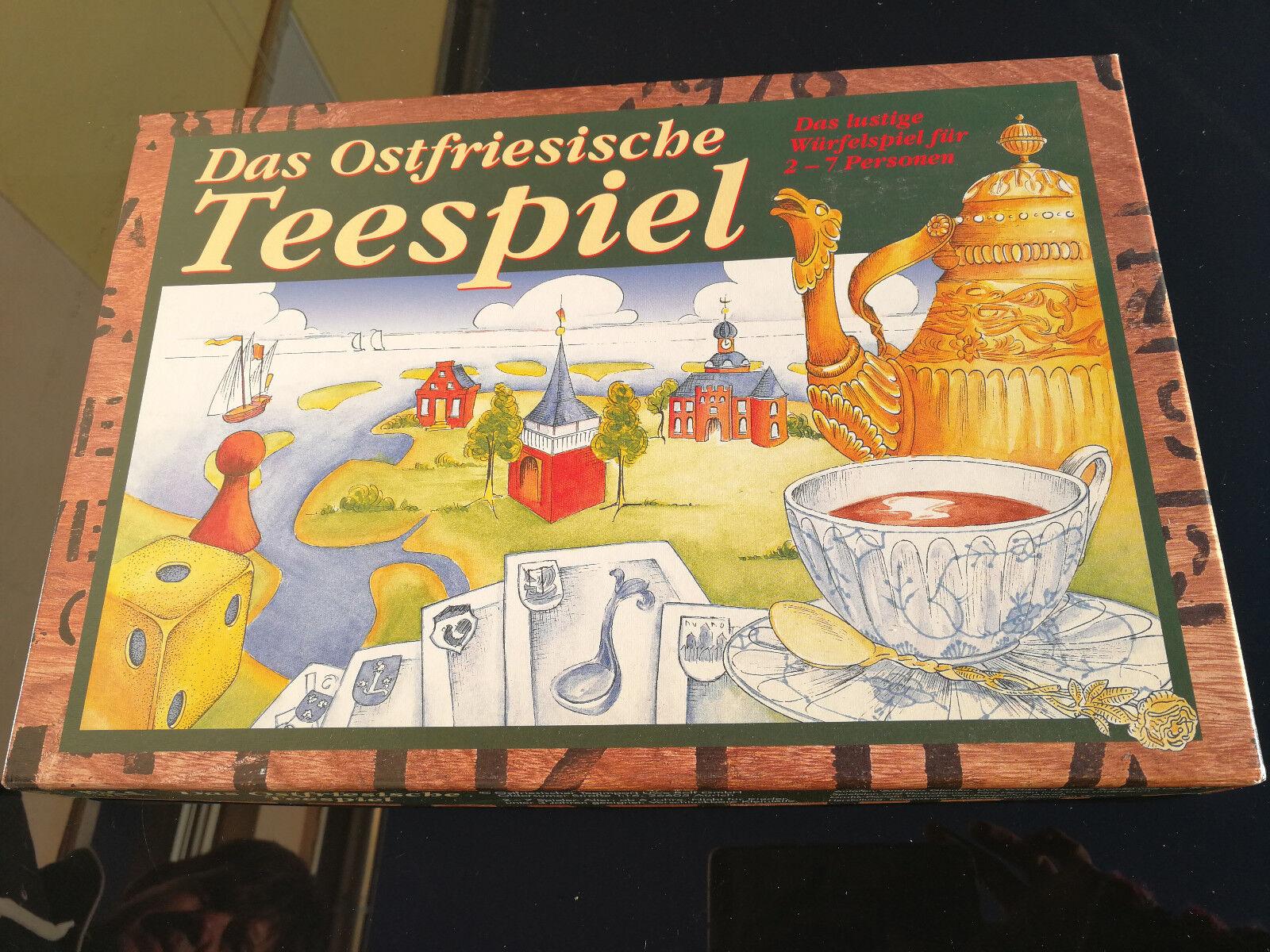 Das Ostfriesische Teespiel, sehr gut erhalten rar