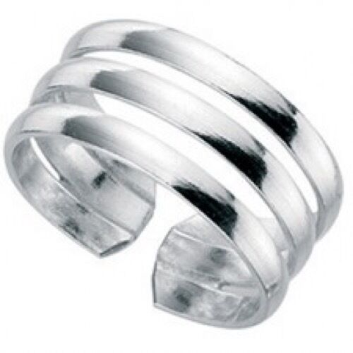 Mixed Design 925 Sterling Silver Adjustable Toe //Small Finger Rings