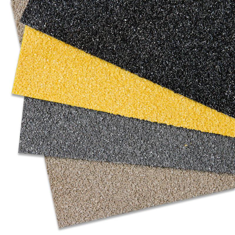 Antirutsch Platte gelb GFK Extra Stark 750x1000 Antirutschstreifen Sicherheit