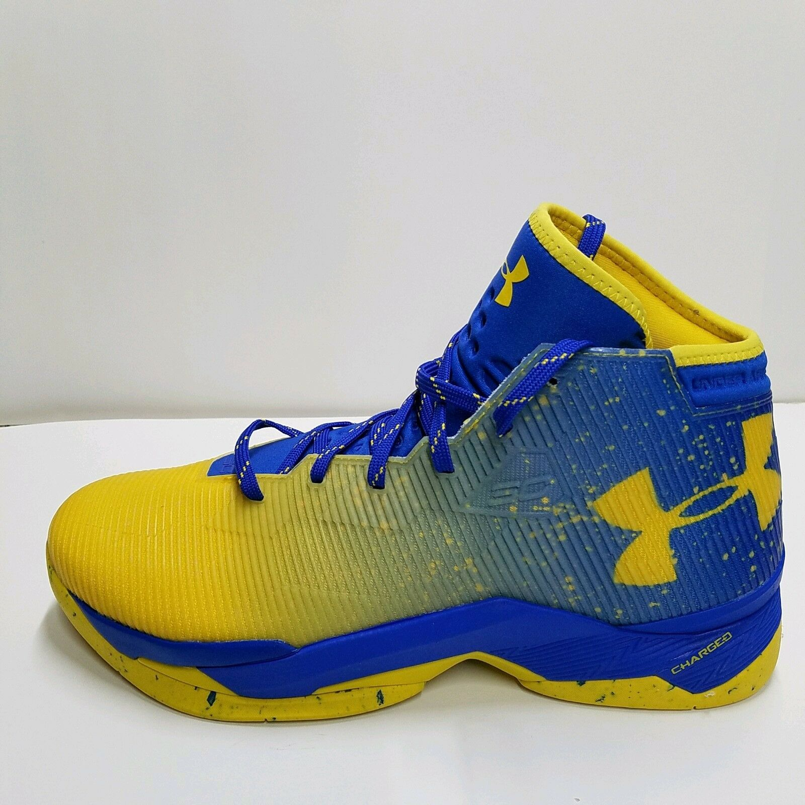 best sneakers f9144 ce22a UNDER UNDER UNDER ARMOUR CURRY 2.5 BASKETBALL schuhe MEN Dub Nation Lights  Team Royal SZ 12.5 07fa53