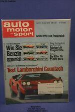 AMS Auto Motor Sport 15/75 Lamborghini Countach VW Käfer Nordstadt