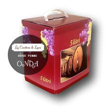 Vino Rosso Onda Bag in Box lt.5 - Vini Sfusi Sardegna -
