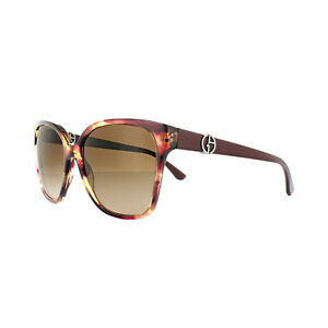 856def4e479 Image is loading Giorgio-Armani-Sunglasses -AR8061-516913-Striped-Violet-Brown-