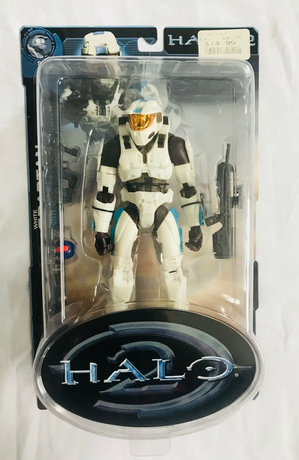 Halo Joyride Series 2 Weiß Spartan 2005