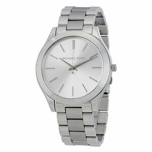 Michael-Kors-MK3178-Slim-Runway-Silver-Wrist-Watch-for-Women