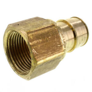 Details about UPONOR ProPEX LF Brass Female Threaded Adapter 1 1/4 PEX x 1  1/4 NPT LF4571313