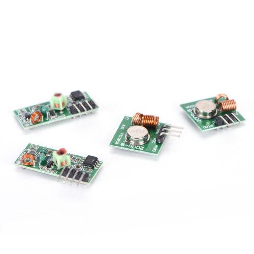 5x 433 Mhz RF Sender und Empfänger Kit Modul Arduino ARM WL MCU Raspberry I1