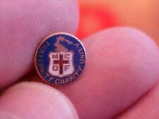Massachuesetts Order of Catholic Foresters Fraternal Screwback Pin    (14B1)