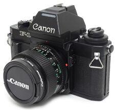 Canon NEW F-1 35mm SLR Film Camera + FD 50mm F1.4 Lens. Filter