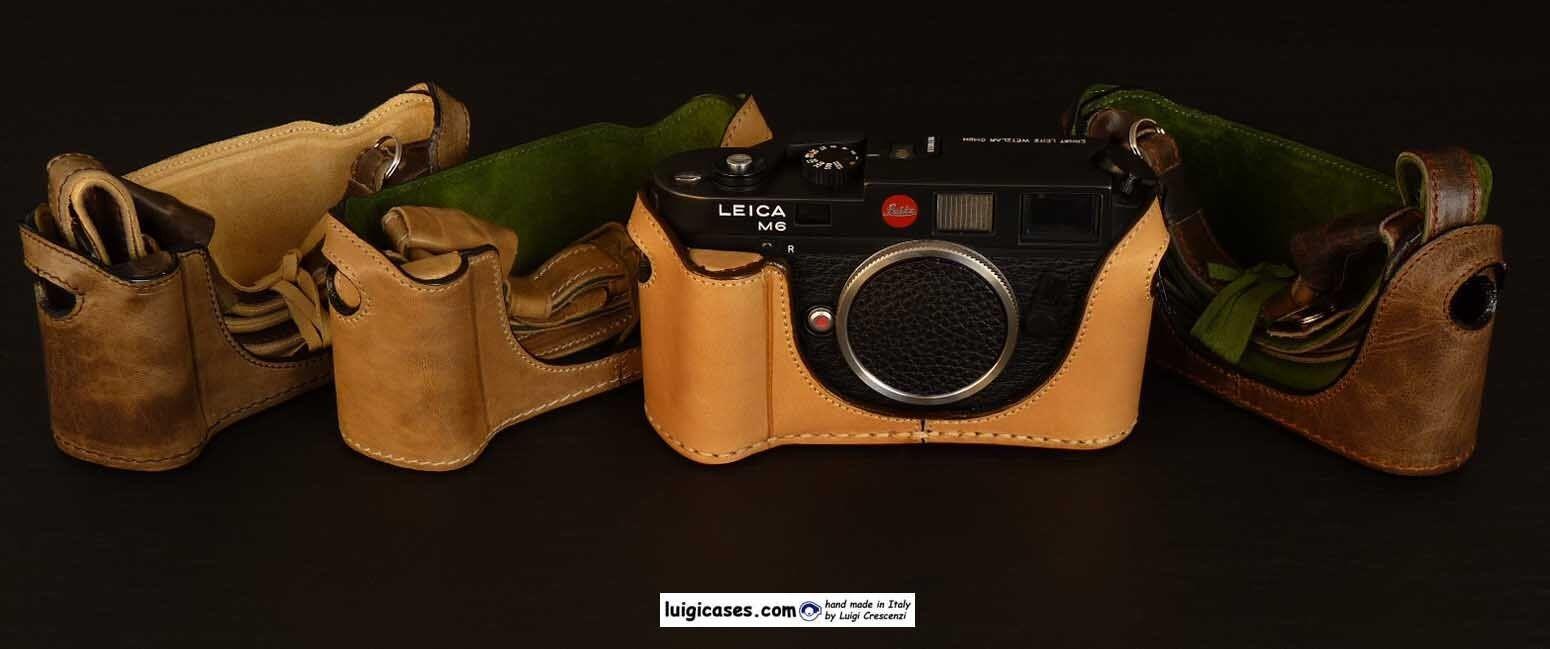 Details about LUIGI BASIC PLUS CASE+GRIP 4 LEICA  M2,M3,M4,M4P,M6,M7,MP,M-A,STRAP,UPS INCLUDED