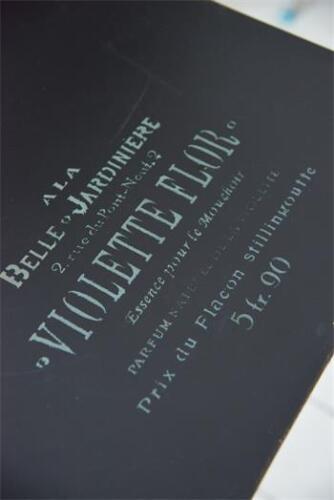 """Jeanne d/'Arc Living Stencil /""""Violette Flor/"""" 18x22cm Shabby Chic Schablone NEU"""