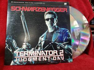 Terminator 2 Judgement Day LaserDisc 1991 Double Laser Disc LD Schwarzenegger