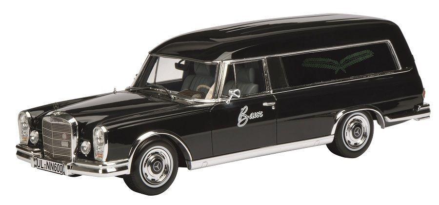 Schuco MERCEDES-BENZ 600 coche fúnebre Limitado Edición 1 18 pro.r18