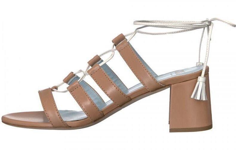Frances Valentine Jade Camel white sandal  Women's size size size 9  m df73d6