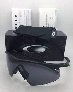 643ca058767ed New OAKLEY BALLISTIC M-FRAME Safety glasses 11-162 Black w  Grey ...