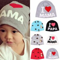 New Unisex Baby Cap Boy Girl Toddler Infant Children Cotton Soft Warm Beanie Hat