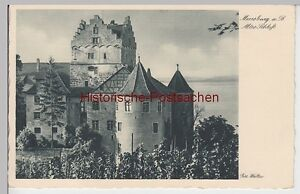 Vor 1945 Schmerzen Haben Altes Schloss 89904 SchöN Ak Meersburg A.b.
