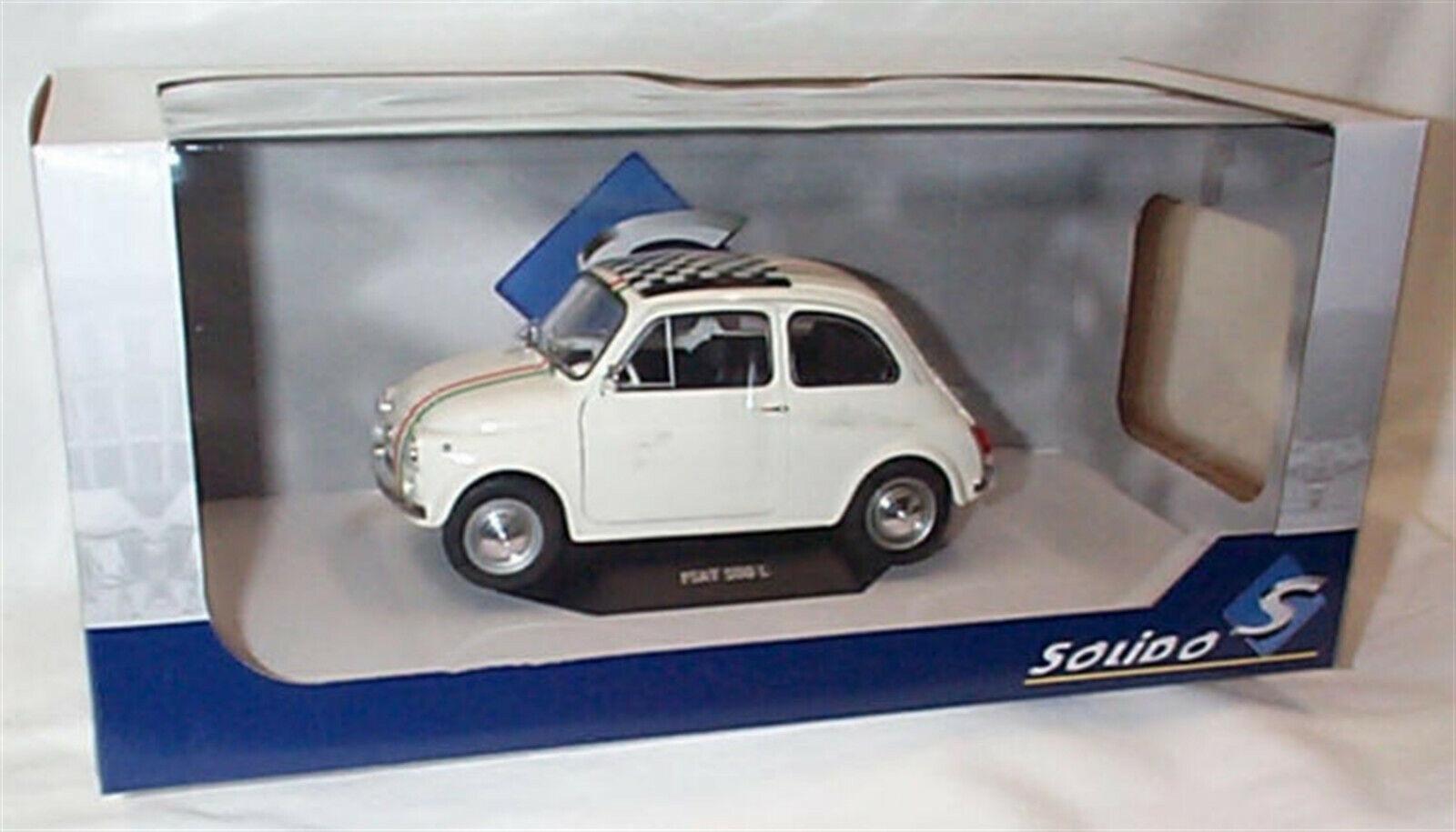 hasta un 50% de descuento Fiat 500L Italia en blancoo 1968 1968 1968 1 18 - S1801403 Solido apertura de puertas  forma única