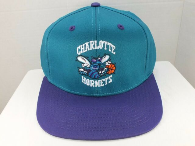 d3348a07e1f44 Charlotte Hornets NBA Retro Vintage Snapback Cap Hat New With Tags By adidas